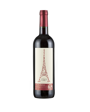 埃弗尔铁塔红葡萄酒