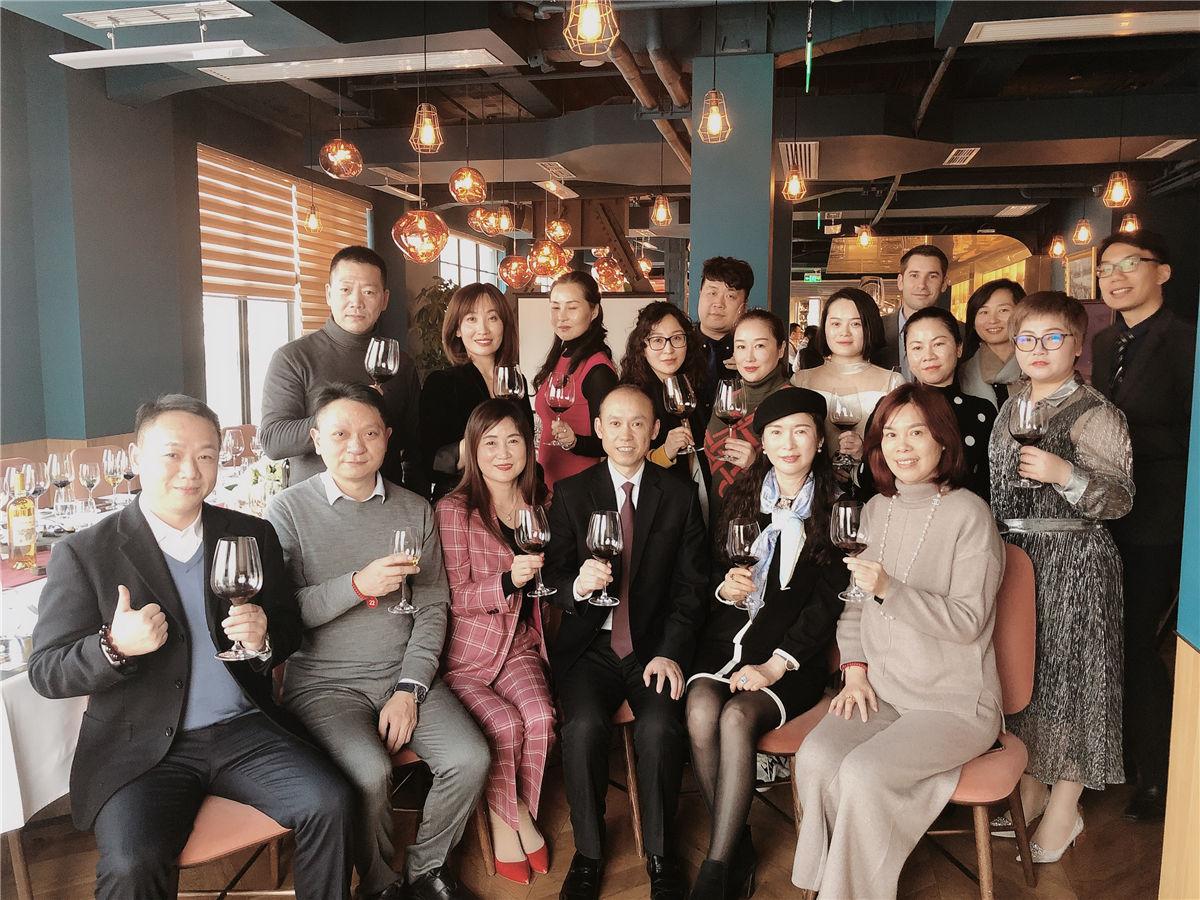 2019年1月17日爱醇与克丽缇娜品鉴会在上海外滩举办